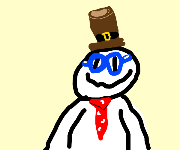 Person with goggles and a brown hat!