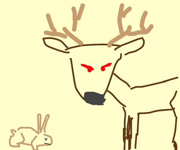 Evil deer