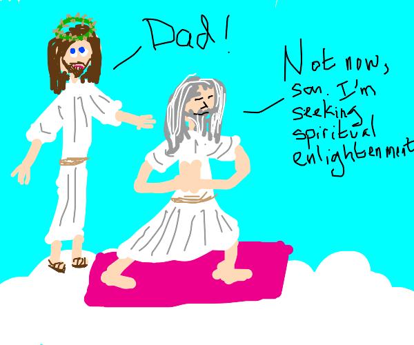 god does yoga