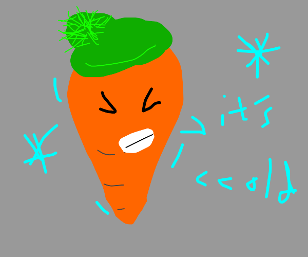 carrot with hypothermia