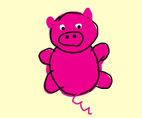 Plump Porky Pig