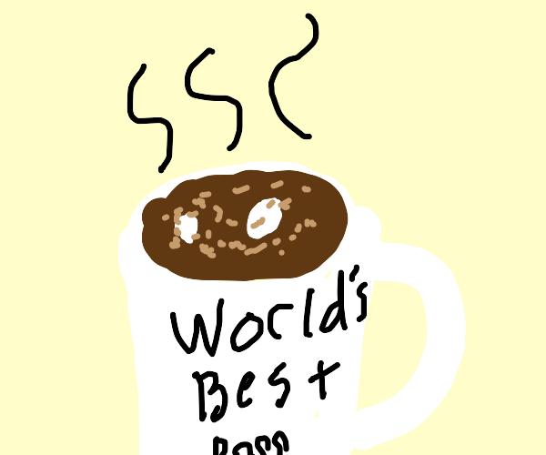 a nice warm cup of cocoa