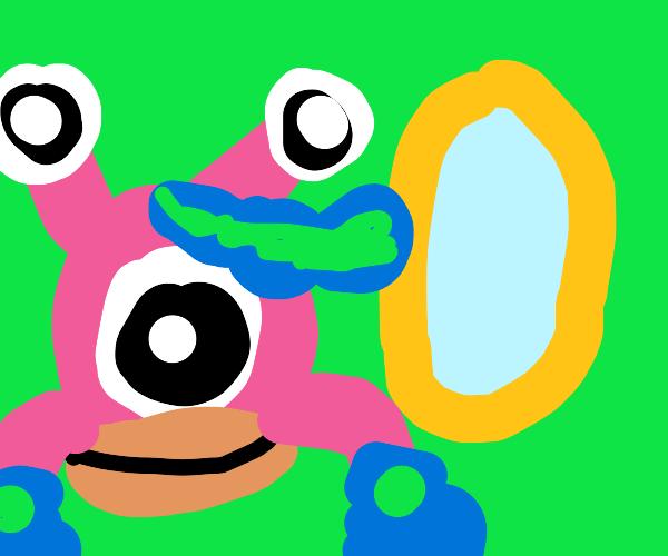 Monster (f) has no mirror image