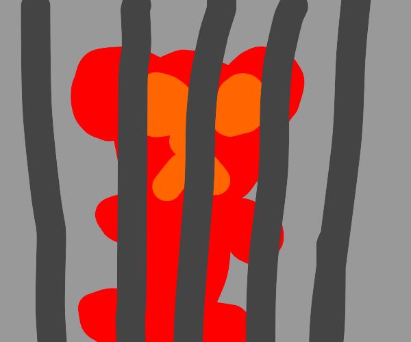 gummy bear in jail