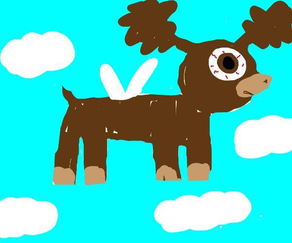 Moose Fly with bulging eyes