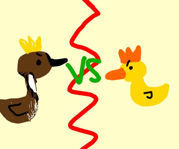 Goose king vs duck king
