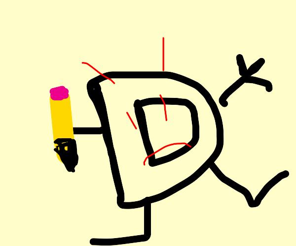 Drawception Devil