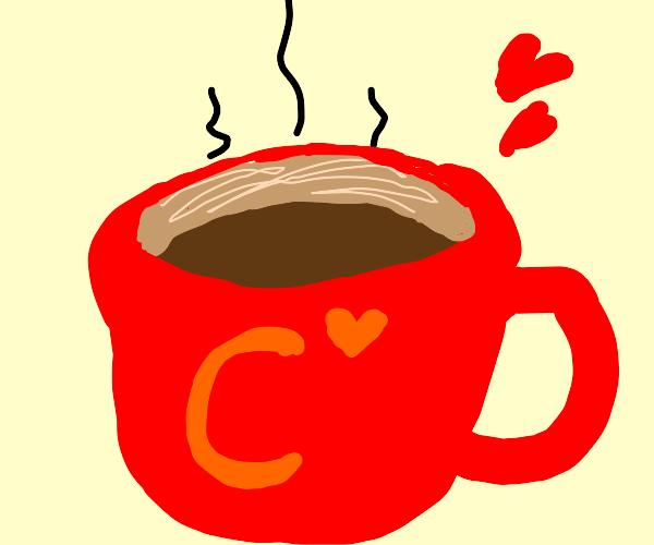 Coffee loving drawception