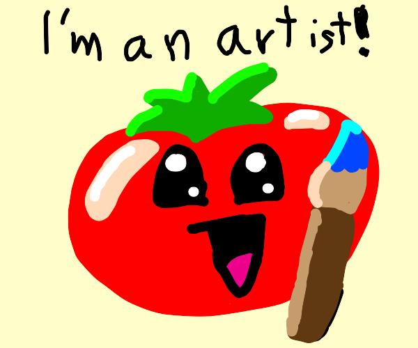 Vegetable Artist