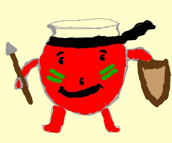 Warrior Kool-Aid Man