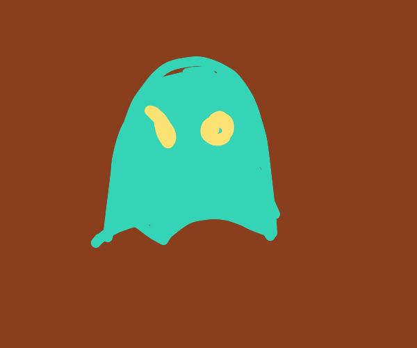 A Really cute ghost!