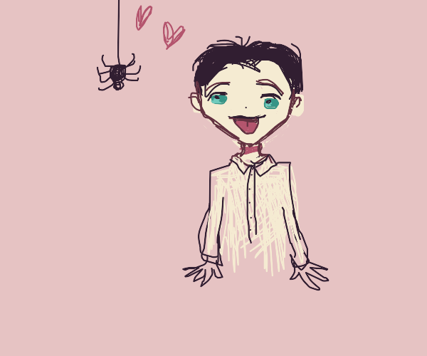 Phil from promised neverland loves spiders