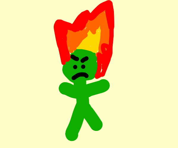 set fire to the grinch!