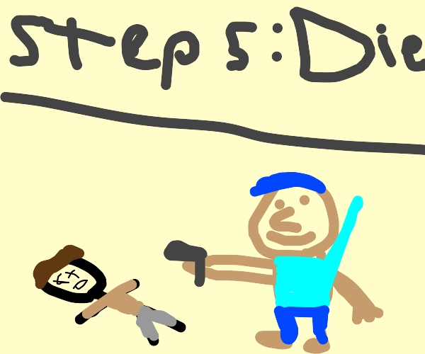 Step 4: let the loser kid do school shooting