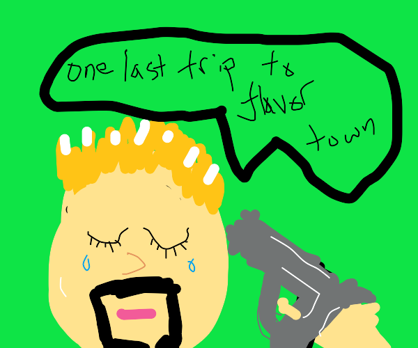 Evil Guy Fieri goes to Flavor Town