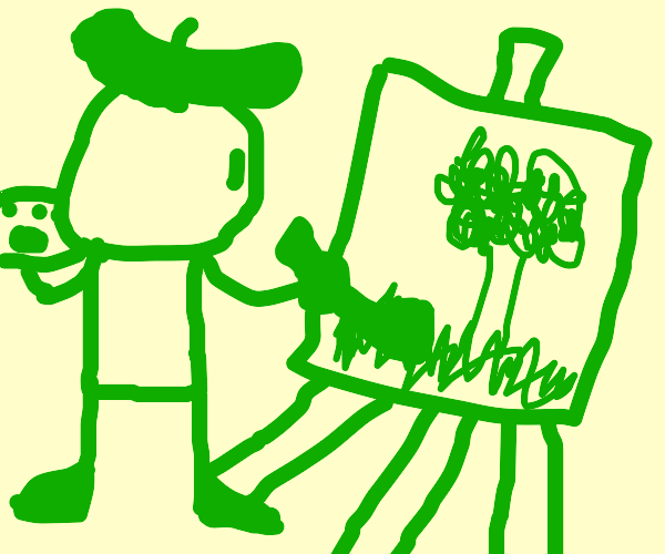 Post your green art
