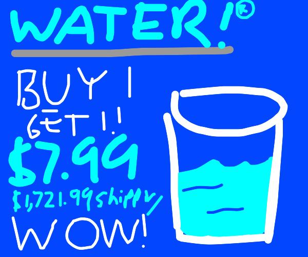 Water infomercial