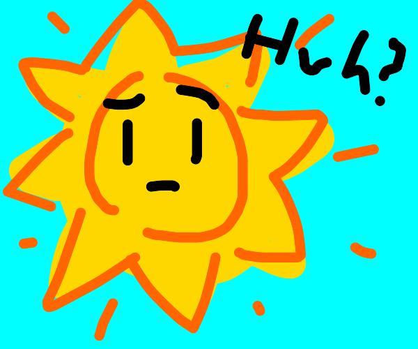 confused sun