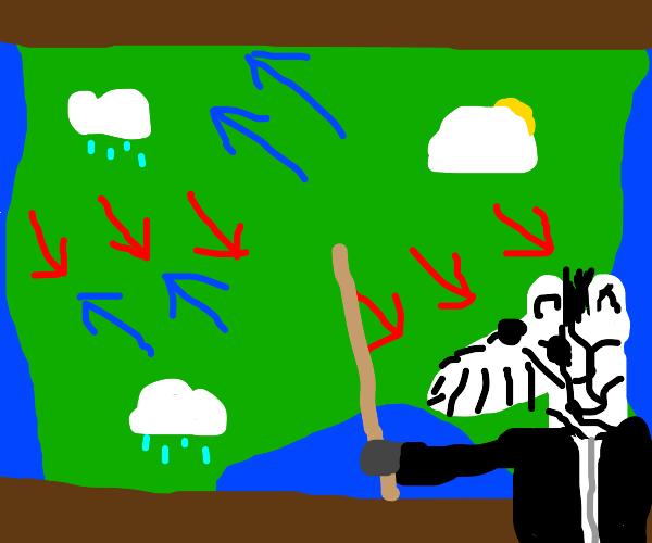 zebra is a meteorologist