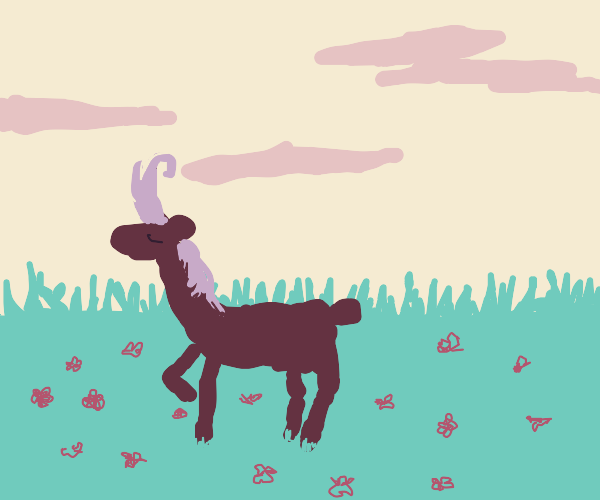 A royal reindeer