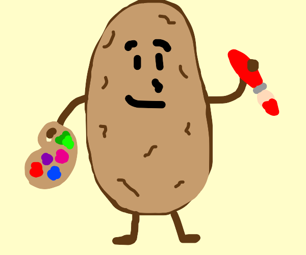 Potato is artist