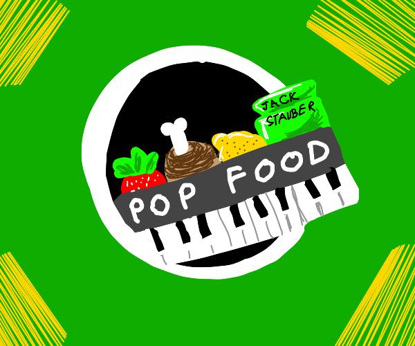 Pop Food Buttercup Logo