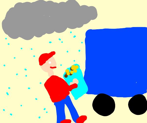 Garbageman in a Storm