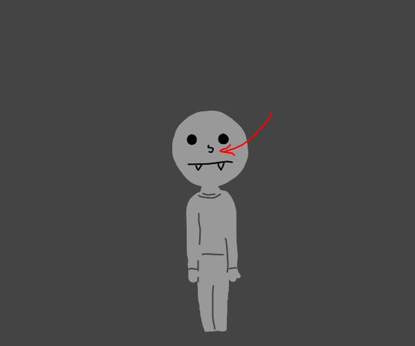 Vampire nose