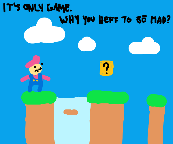Draw whatever you want but with Super Mario