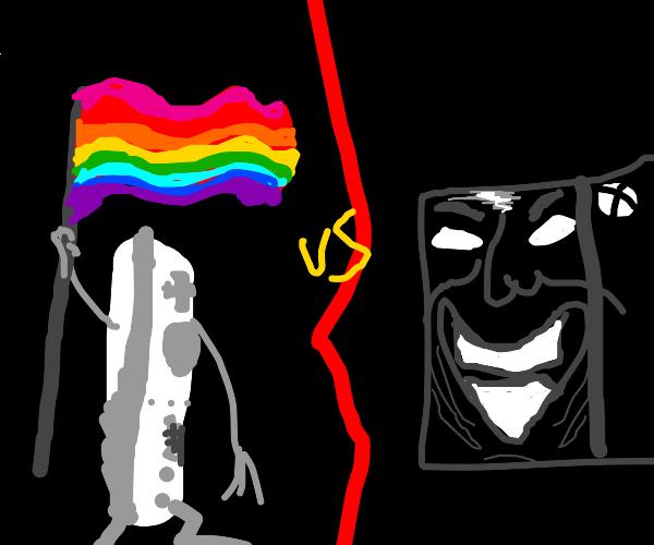 gay pride wii vs cursed x-box