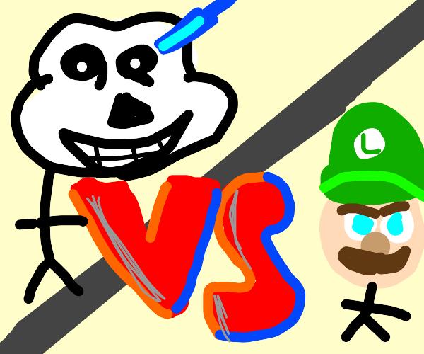 Sans VS. Luigi!