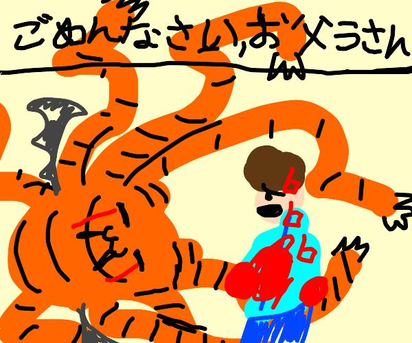 demonic garfield apoligizes to jon
