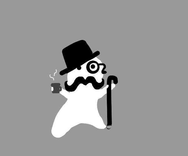 a very dapper ghost