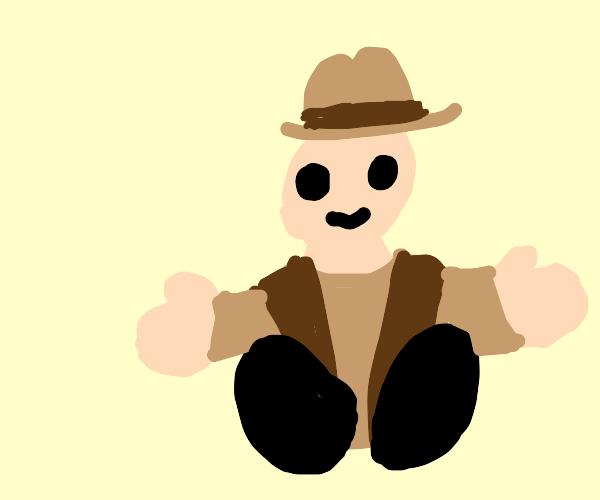 plush cowboy