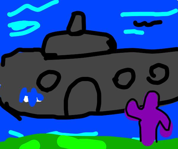 Underwater Giant