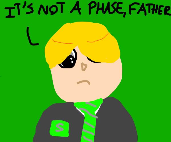 draco malfoy's emo phase