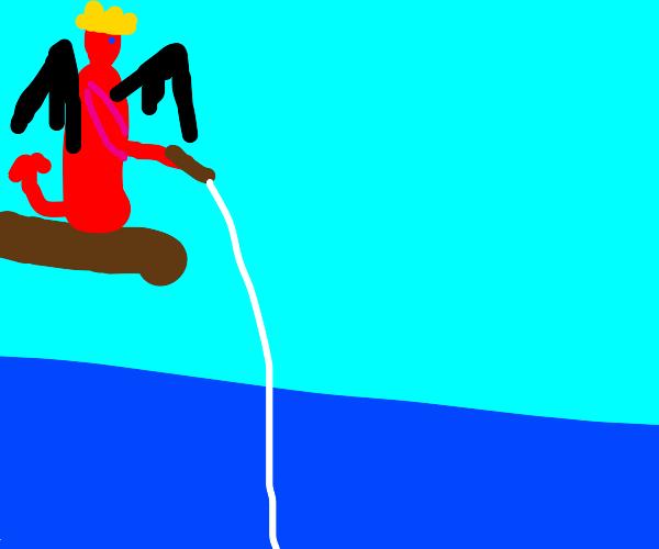 Satan fishing
