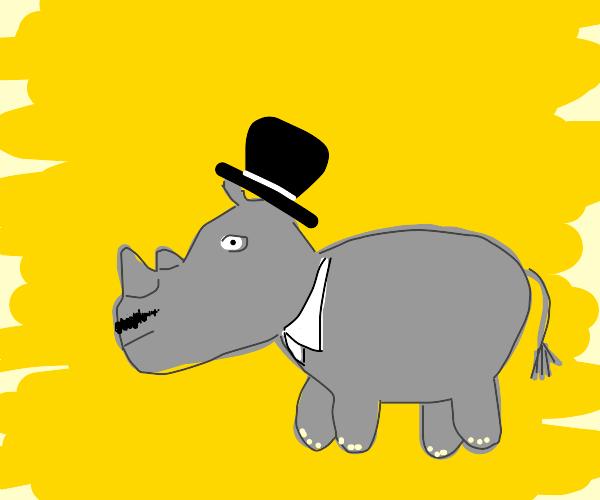 Aristocratic rhino
