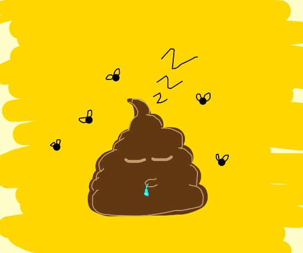 Sleeping turd