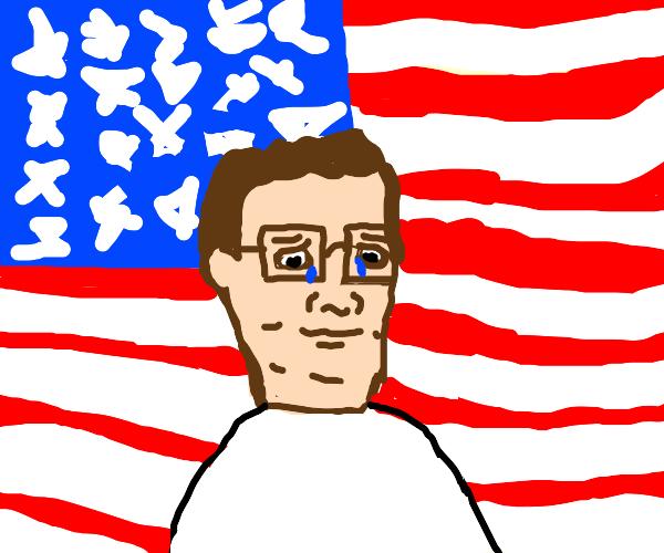 Hank Hill loves America
