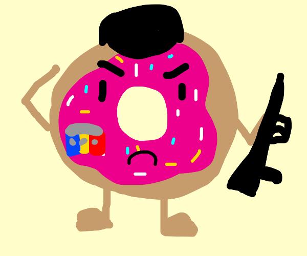 Donut Soldier