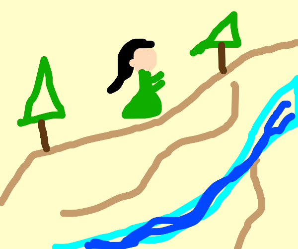 Mona Lisa Hiking