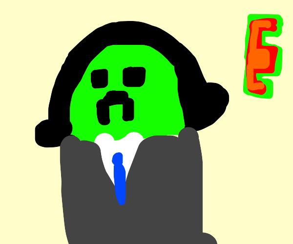 Minecraft Creeper E