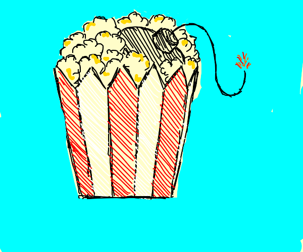 Exploding popcorn