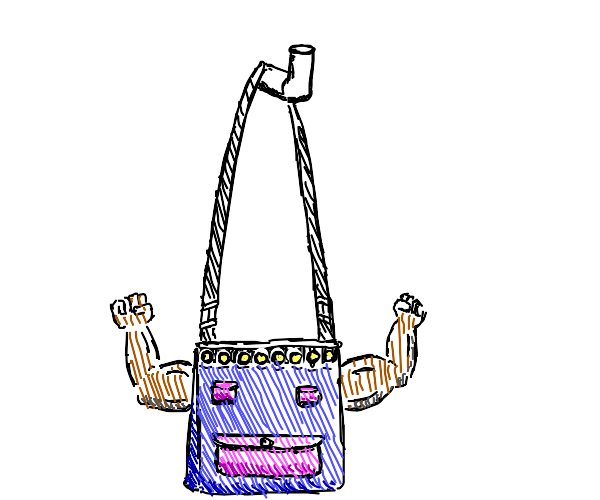 flexing your purse for WAY too long