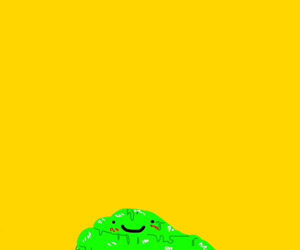 Slime with a mouth