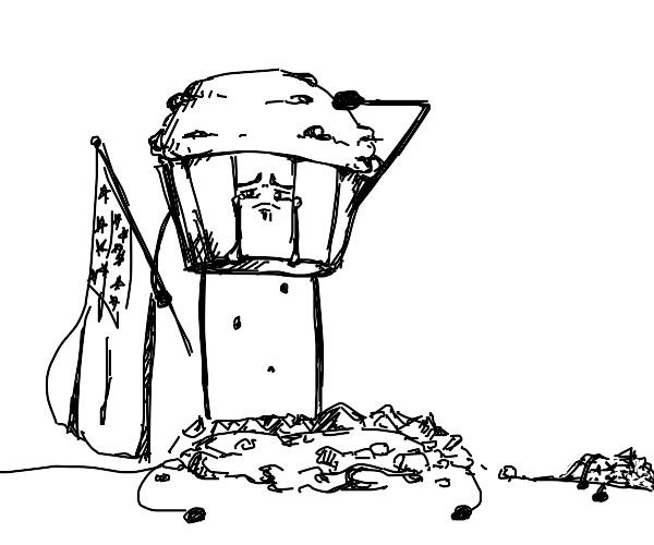 American Muffin honors his fallen comrades