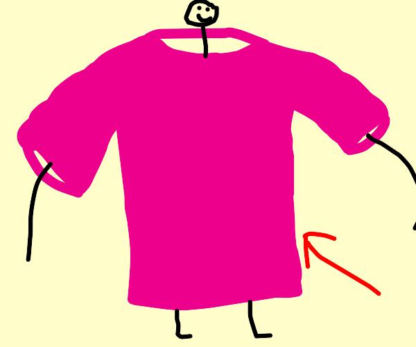 A Pink T-Shirt