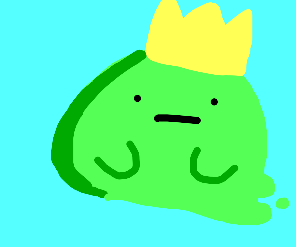 """king slime is """"quirky"""""""