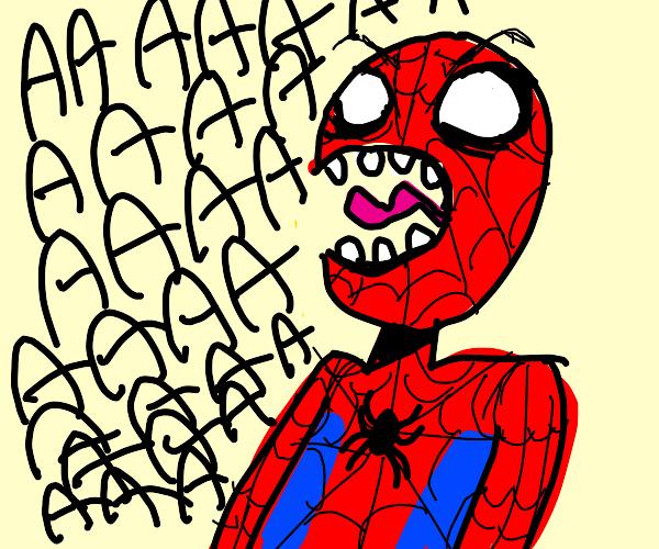 Spiderman Screaming